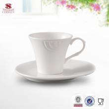 Hergestellt in China Keramik Drinkware Kaffeetasse mit Untertasse
