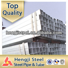 ASTM A500 hot dip galvanized square steel pipe