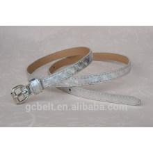 Fashion woman and lady fancy pu leather belt
