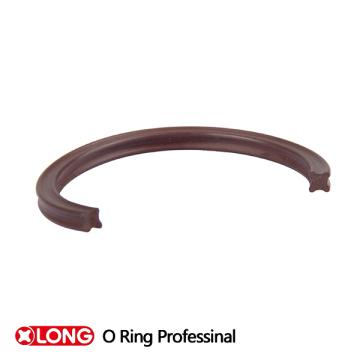 Kundenspezifischer schwarzer NBR X Ring für dynamisches Siegel