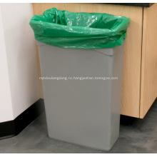 Черные мешки для мусора для мусорных баков