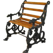 Customized Sizes Cast iron garden bench Outdoor Rattan Garden Chair