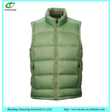 Hot sale popular fashion cotton sleeveless jacket men