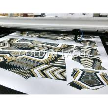 Fly Scanning Printed Fabric Laser Cutting Equipment