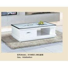 High Gloss Modern Glass Coffee Table for Living Room (2019)