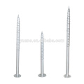 China Supplier Q235 Steel Ground Screw Post Anchor for Solar Mounting