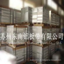 Aluminium 6061t6 Platte für Ventile