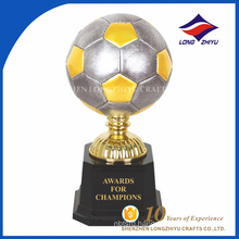 Shenzhen manufacturer custom Soccer champion award trophy