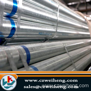 OEM for ERW Black Steel Pipe Greenhouse and scaffoldings used hot dip galvanized steel pipe export to Uruguay Exporter