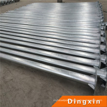 CE Approved 5.8m High-Pole Lamp with Hot DIP Galvanizing