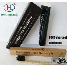 Dentifrice blanchissant au charbon de bambou