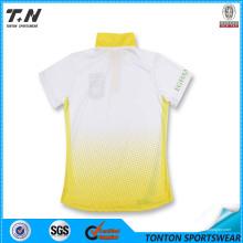 Sicherheits-leeres neues Entwurfs-kundenspezifisches Paar-Polo-Hemd