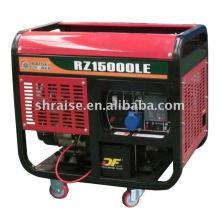 Generador diesel movible