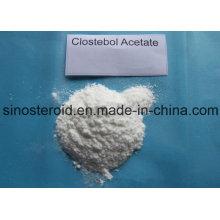 Homebrew Steroid Hormone Powder Turinabol 4-Chlorotestosterone Acetate/Clostebol Acetate (855-19-6)
