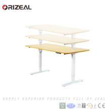Commercial Office Furniture Sit Stand Electric Adjustable Height Standing Desk Special offer