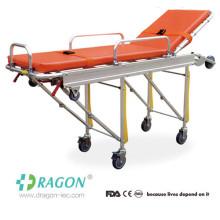 DW-AL004 Civière pliable d'ambulance pliable haute résistance en aluminium