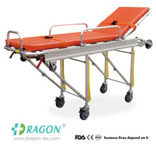 DW-AL004 High strength aluminium adjustable foldable ambulance stretcher