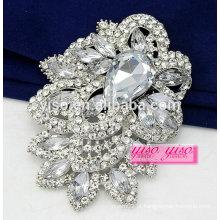Broche de casamento de diamante de moda no atacado
