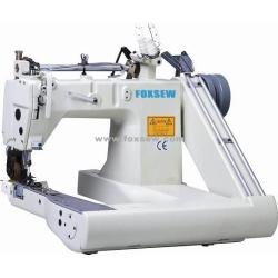 Maszyna do szycia igły Double paszy off-ramię (z wewnętrznej ściągacz)