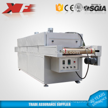 small IR screen printing tunnel dryer