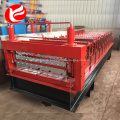 Color steel double layer roll forming machine