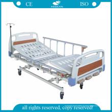 AG-BMS003 avec le lit d'hôpital pédiatrique durable de mains courantes d'Al-Alloy
