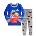 Топ Мода Милый Мультфильм Печатных Дети Стиль Два-Piece Пижамы Пижамы