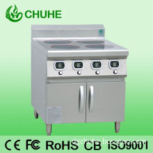4 Burners Commercial Induction Hobs