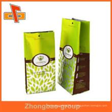 Китай завод OEM accpted настроить тепловой печати алюминиевой фольги мешок с вашим логотипом