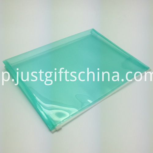 Promotional Plastic Zipper File Folder 2