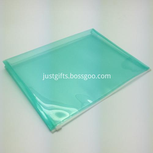 Promotional Plastic Zipper File Folder 2