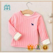 Alta qualidade bebê inverno fleece corduroy dentro das crianças roupas tira infantil roupas de inverno modelo de roupas