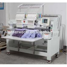 2 cabeça computadorizada preço da máquina de bordar para t-shirt
