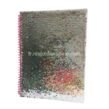 Diagramme de journal de journal de luxe Sequin