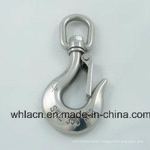 Stainless Steel Snap Hook Spring Carbiner Hook (Precision Casting)