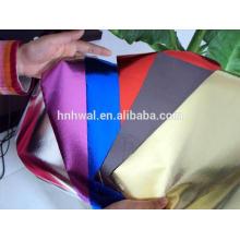 Pedaço de papel de folha de alumínio de cor laminada para embalagem de alimentos