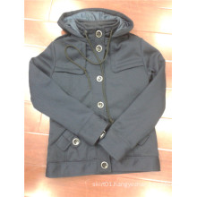 Sample for Man Jacket for Winter En Gray Color