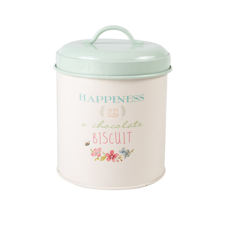 Biscuit Canister Metal