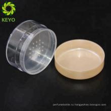 Компактный косметический случай упаковки рассыпчатая пудра