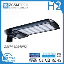 Luz de rua econômica do diodo emissor de luz do poder superior 240W mini