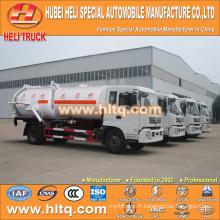 DONGFENG 4x2 aspirateur et camion de lavage sous pression 170HP moteur cummins