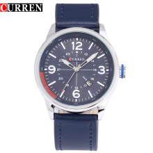 CURREN Minimalism Leather Sprots Quartz Watches