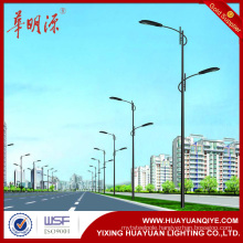 galvanized steel tubular light poles