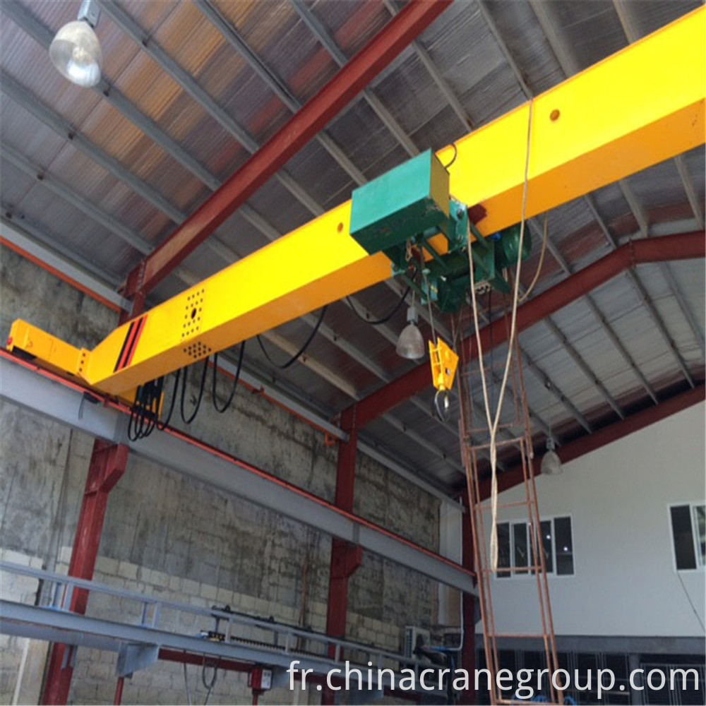 Ld Single Girder Electric Hoist Crane1