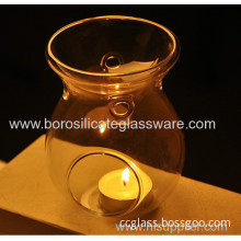 Heat Resistant Aroma Stove Glass Candle Holders