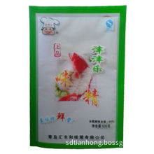 Plastic packaging bag for food with nice printing