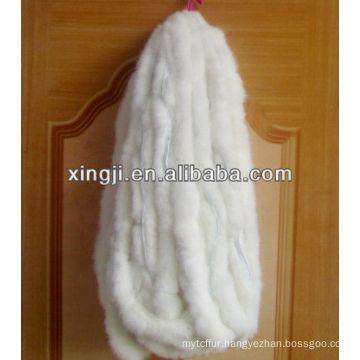 Top qualityreal Rex Rabbit fur trimming