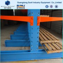 Prateleira da cremalheira do armazenamento pesado da canalização do PVC do CE