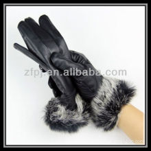 fox fur mink leather glove exporter in china