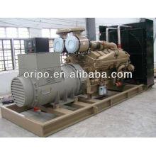 Hochleistungs-Industrie-800kw / 1000kva-Generatoren, die von Cummins-Dieselmotor KTA38-G5 angetrieben werden